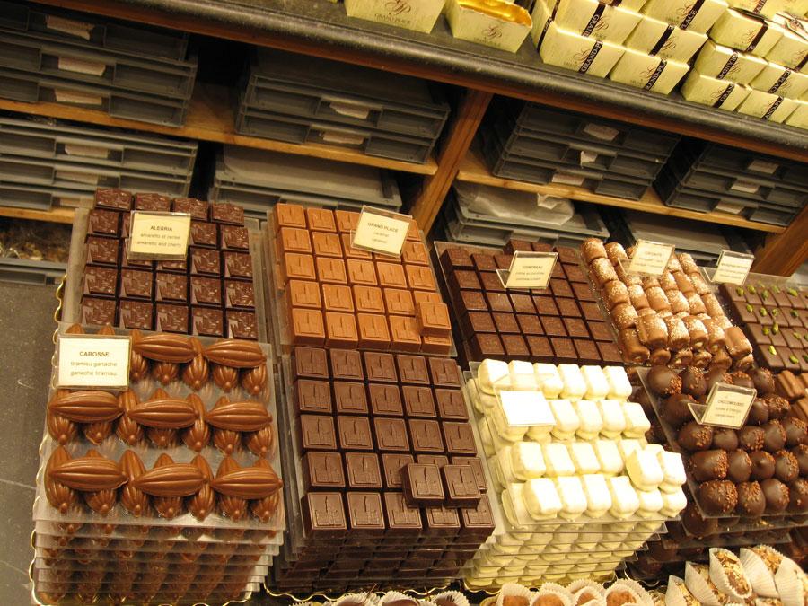 Бельгийский шоколад от прошлых веков до нашего времени