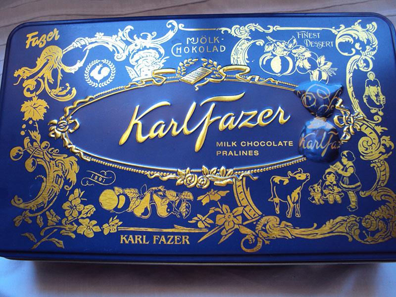 Шоколад Карл Фацер