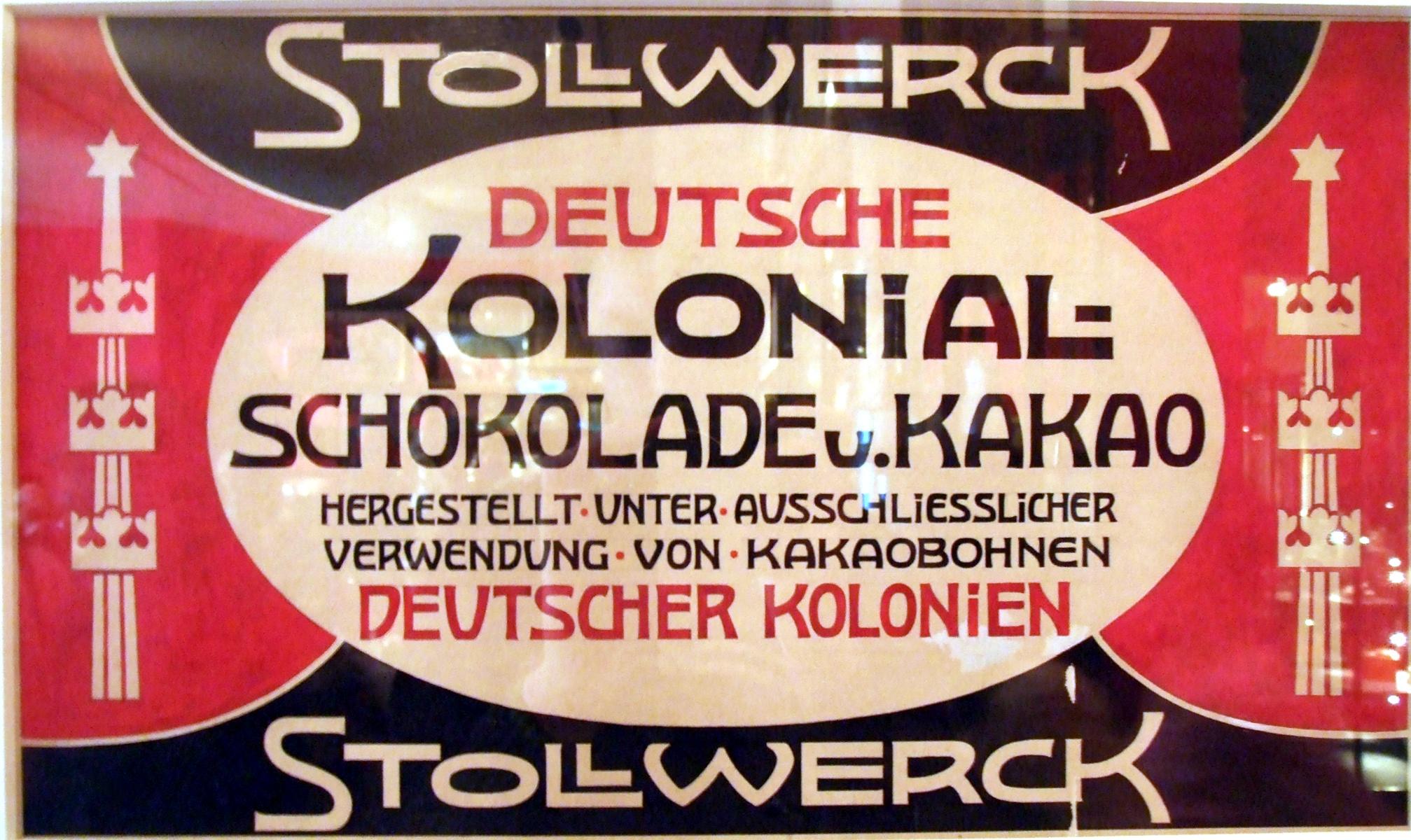 Шоколад Stollwerck