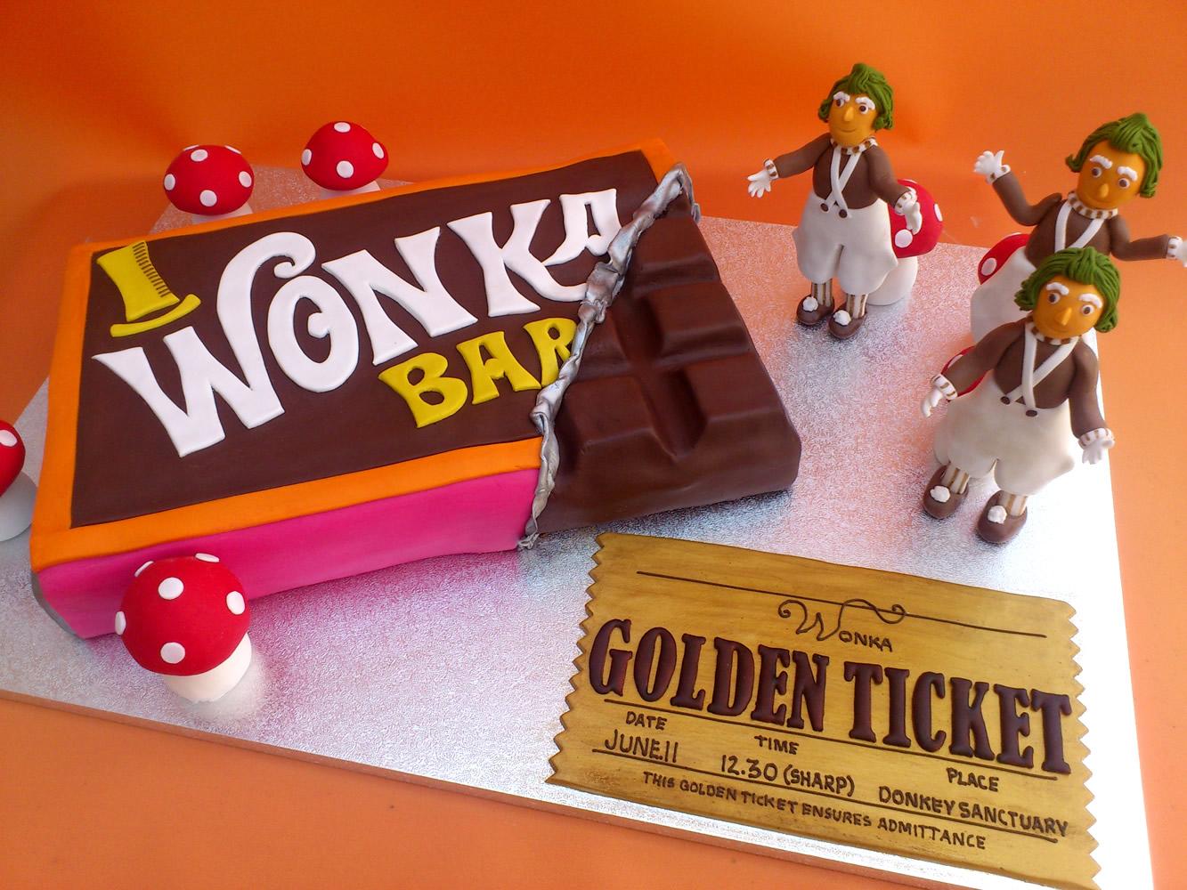 Вилли Вонка шоколад