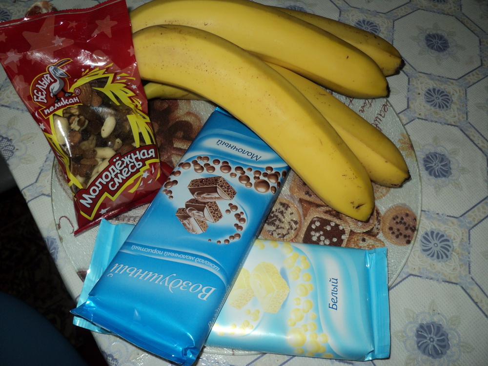 Бананы в шоколаде рецепт