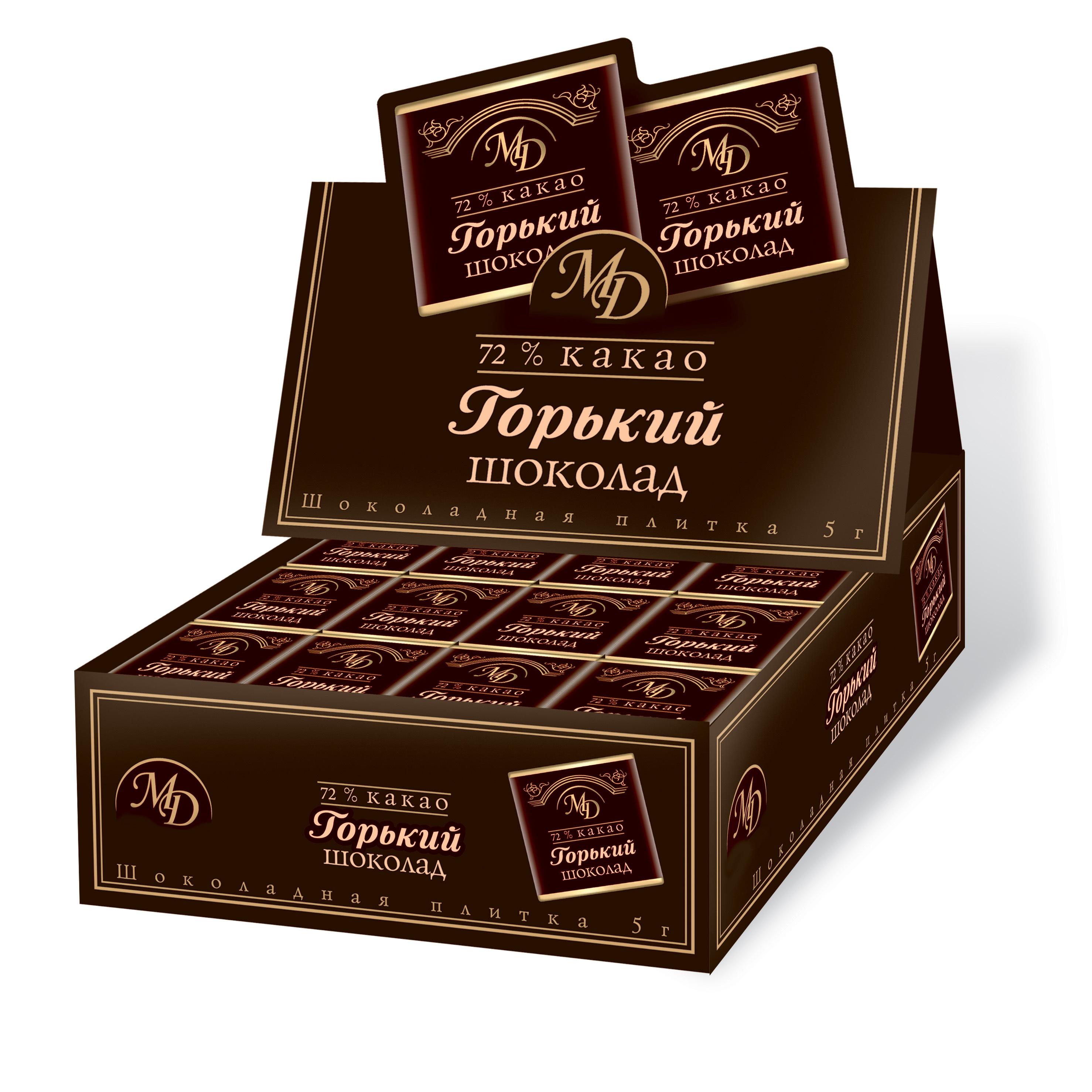 Набор горького шоколада