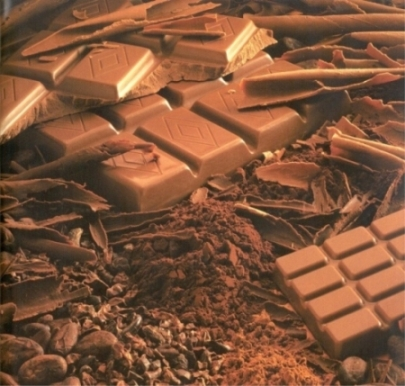 История молочного шоколада