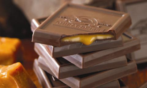 Бельгийский шоколад с начинкой