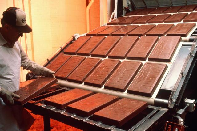 Производство шоколада наше время