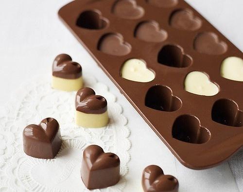 Горячий шоколад в формочках