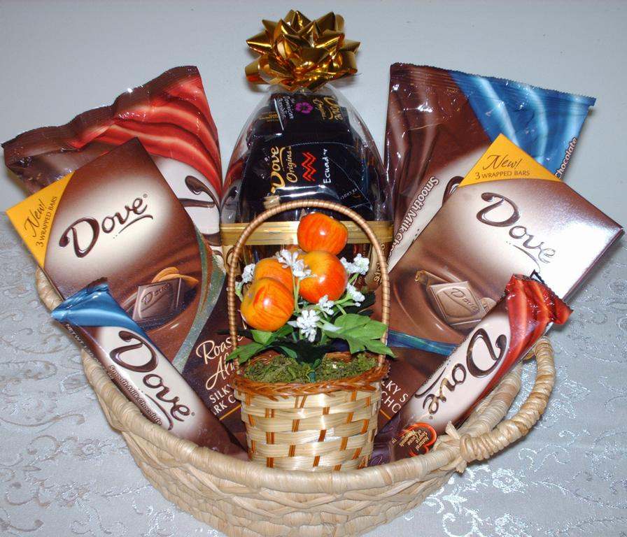 Что положить в подарок из конфет 473