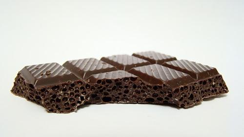 Пористый шоколад марки