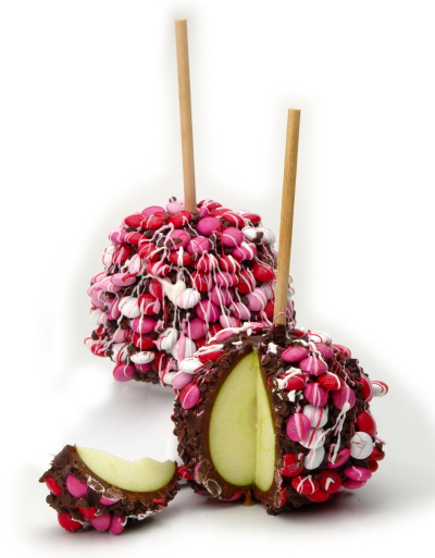 яблоки в шоколаде на палочке рецепт с фото