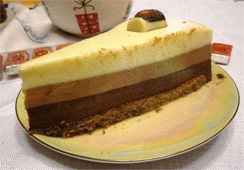 Готовый торт 3 шоколада
