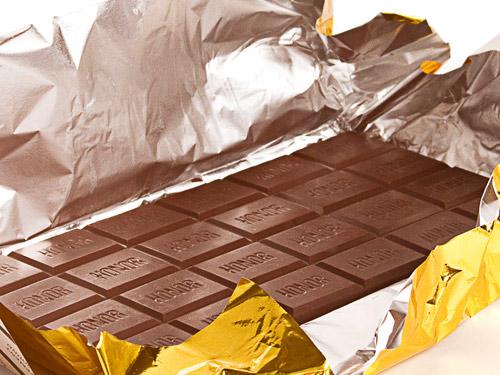 Плитка лучшего горького шоколада