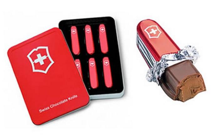 Swiss шоколадный нож