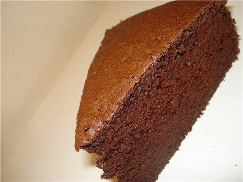 Бисквиты для тортов рецепты с фото шоколадный