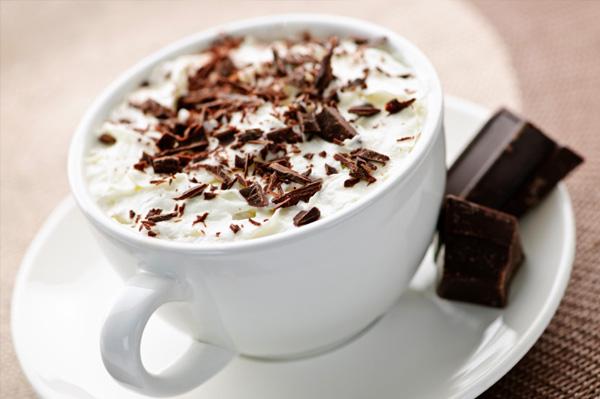 Как приготовить белый горячий шоколад