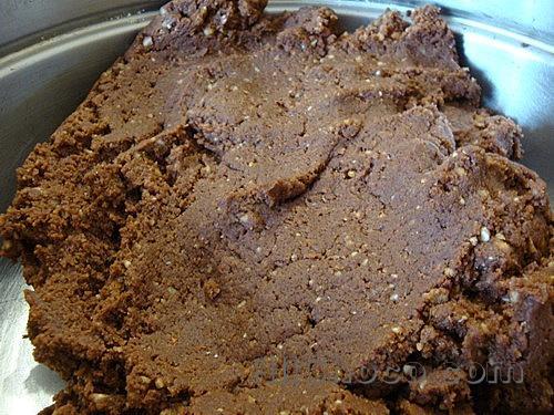 Основа пирожного картошка из печенья