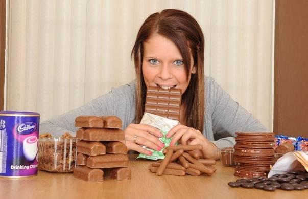 Много шоколада есть нельзя