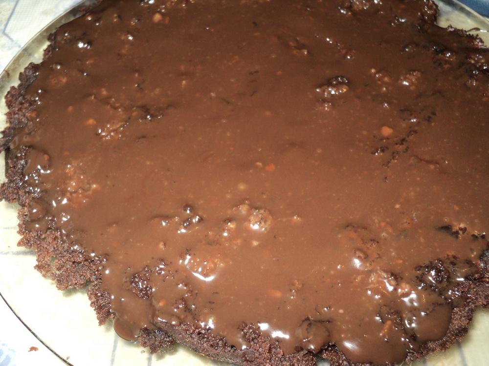 Торт с бельгийским шоколадом