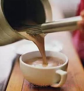 Простой горячий шоколад