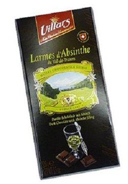 Шоколад с абсентом Villars