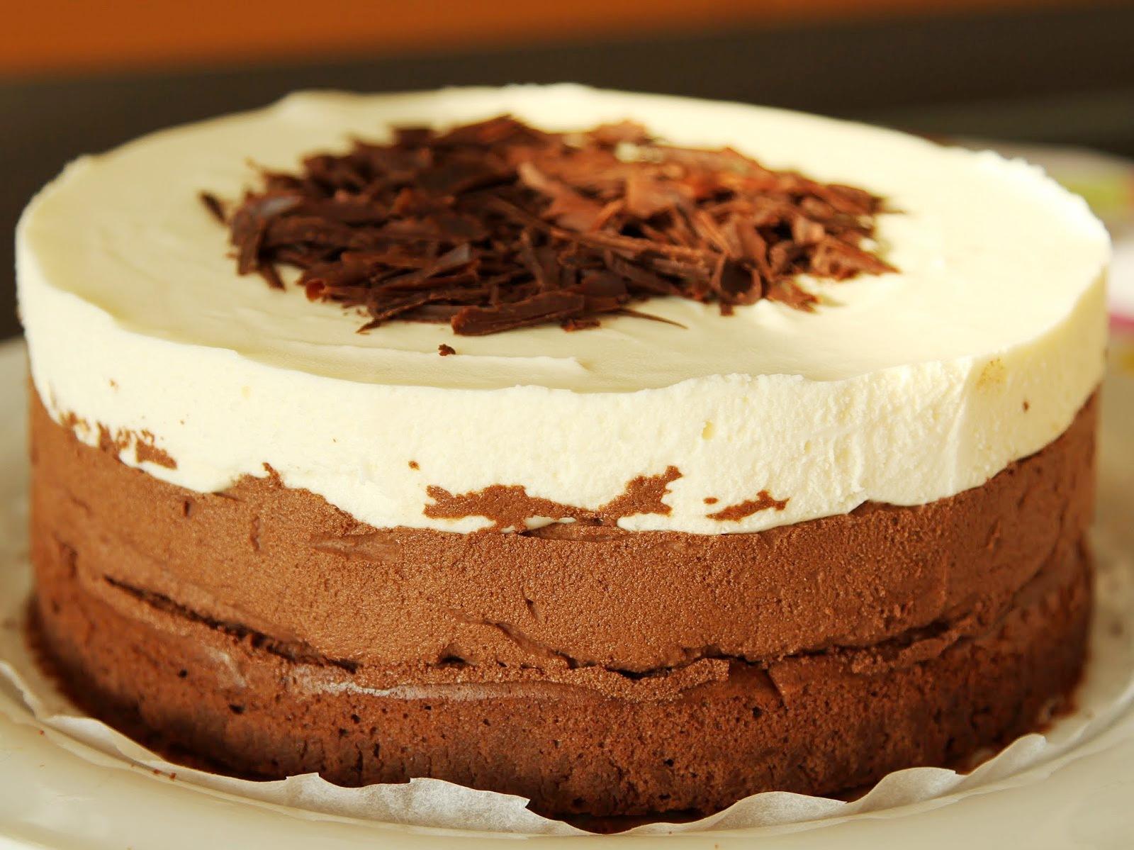 Торт три шоколада Мирель рецепт