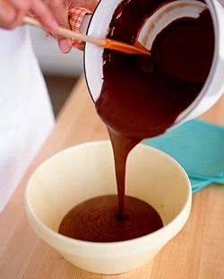 Готовим шоколадную ванну
