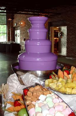 Шоколадный фонтан для вечеринки