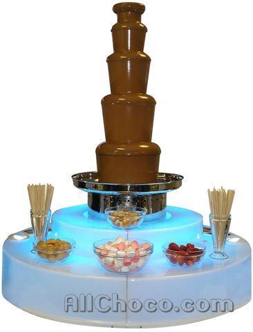 Шоколадный фонтан для дома и бизнеса