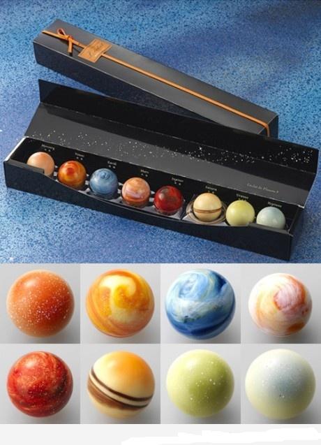 Планеты с шоколадом