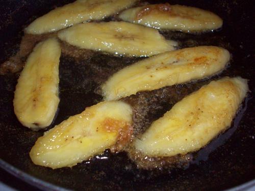Жарим бананы в шоколаде