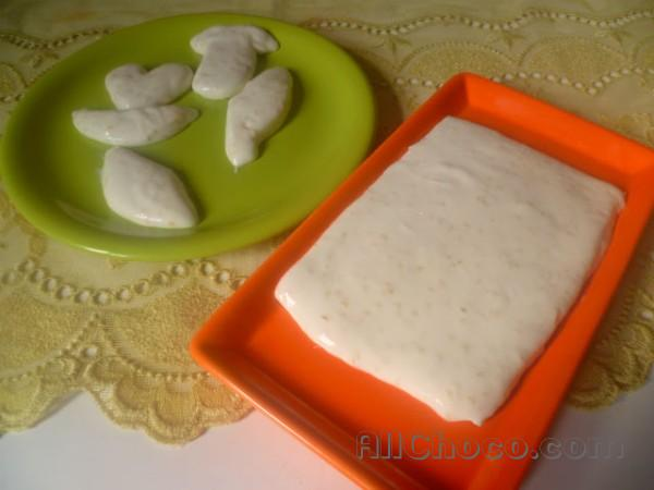 Готовим белый шоколад дома