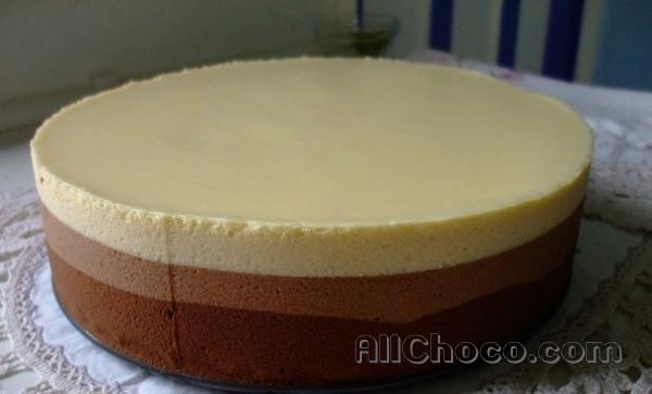 Готовим торт два шоколада
