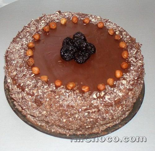рецепт вкусного торта с орехами в домашних условиях с фото пошагово