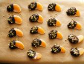 Мандарины в шоколаде: рецепт приготовления