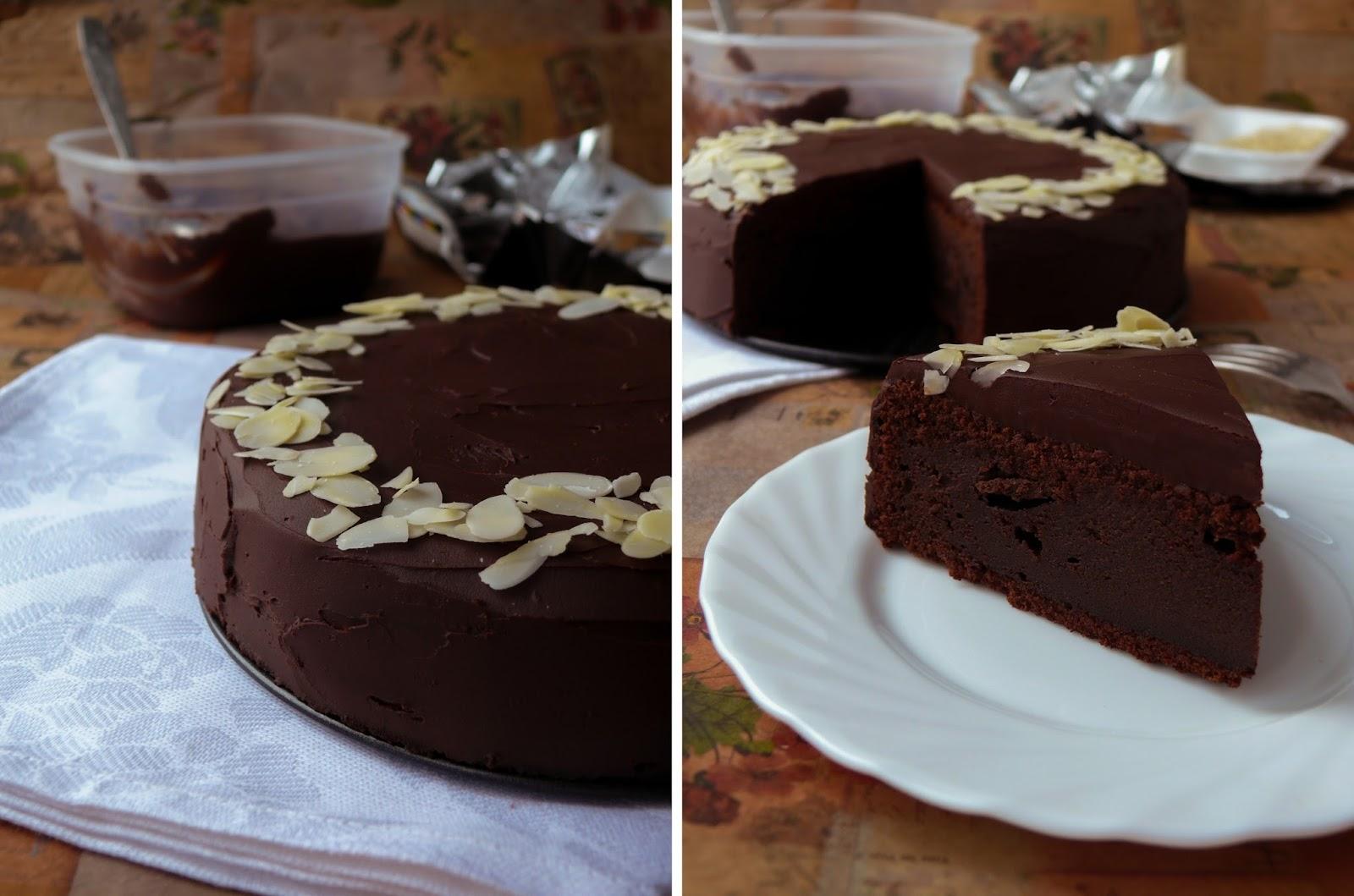 Французский шоколадный торт рецепт