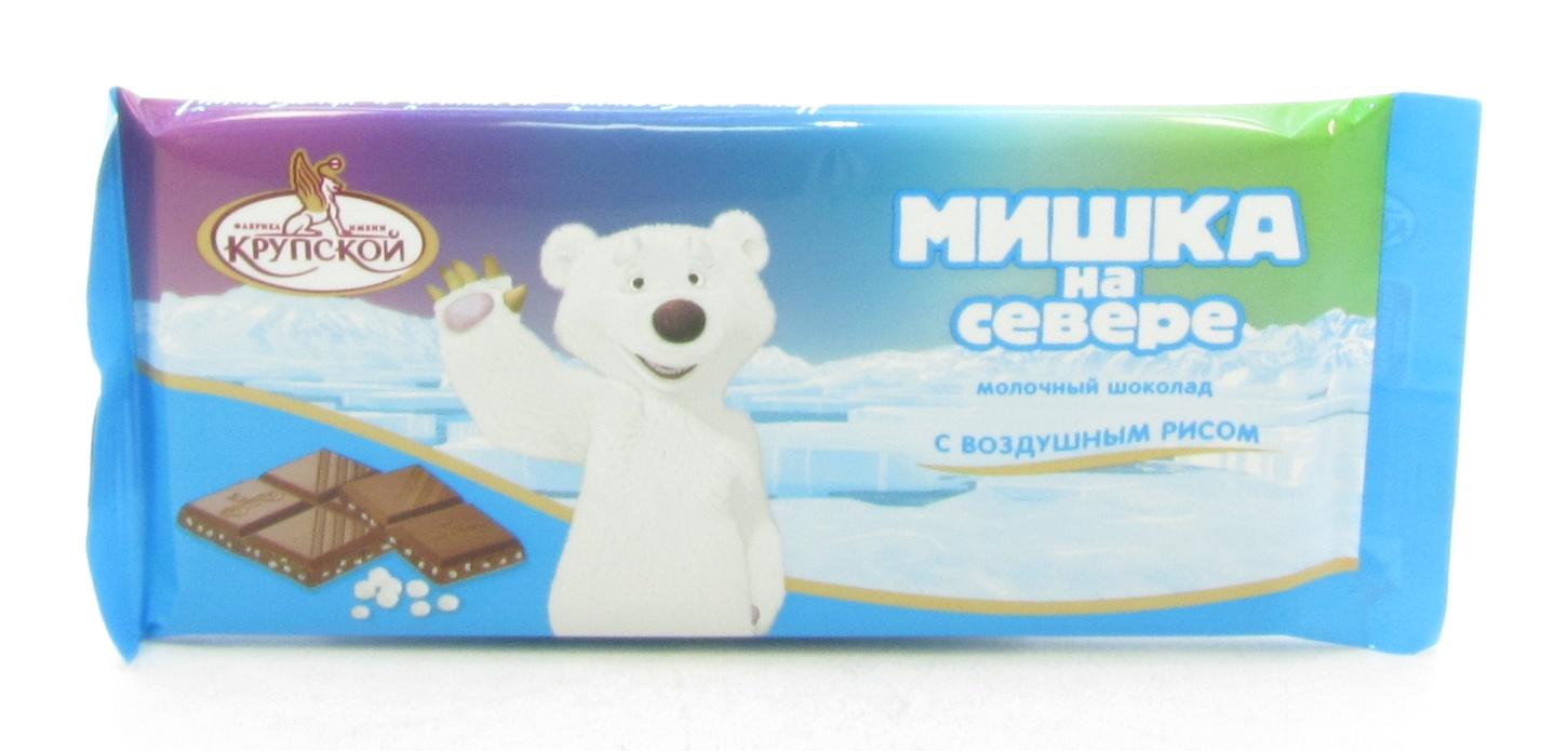 Шоколад Мишка на севере