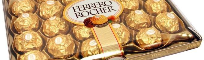 Шоколад Ferrero Rocher (Фереро Рошен)