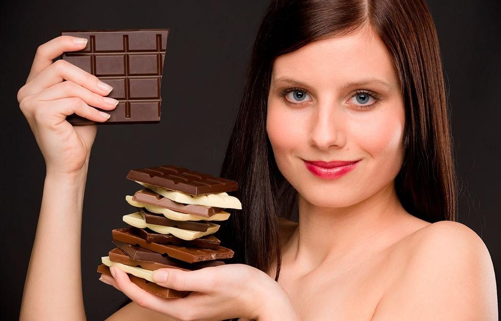 Как похудеть на горьком шоколаде?