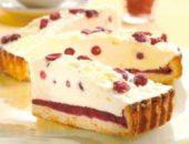 Брусничный торт с белым шоколадом рецепт