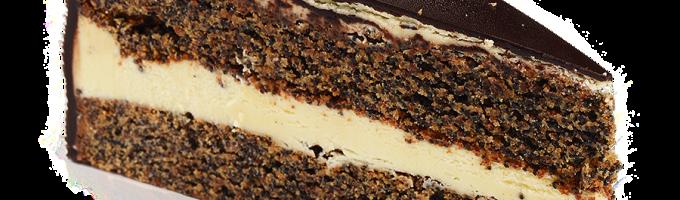 Торт с черным шоколадом