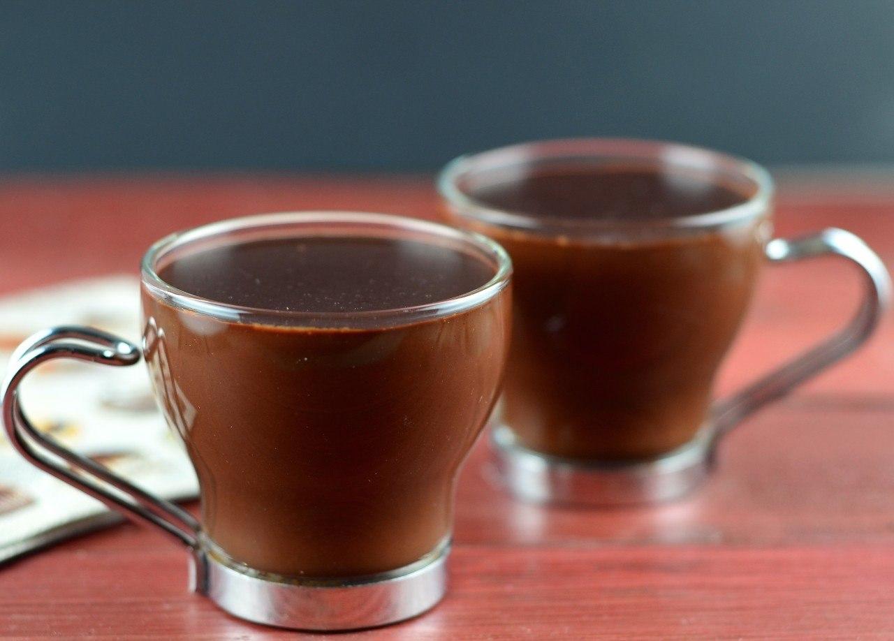 Горячий шоколад с ромом