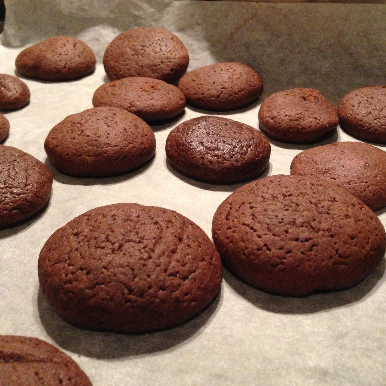 Шоколадное печенье с какао рецепт пошагово