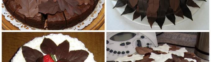 Украшения из шоколада своими руками