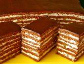 Торт медово шоколадный с орехами: рецепт приготовления