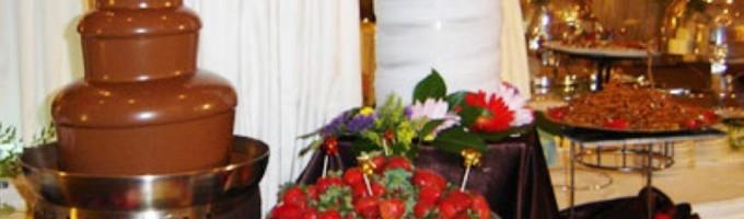 Размеры шоколадных фонтанов