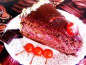 Торт пьяная вишня в шоколаде: рецепт приготовления