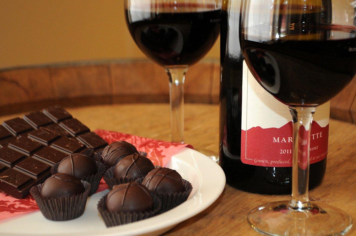 Шоколадное вино своими руками