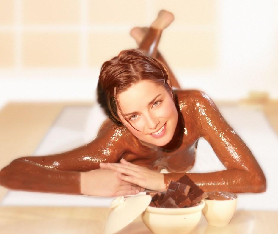 Купание в шоколаде или шоколадные ванны