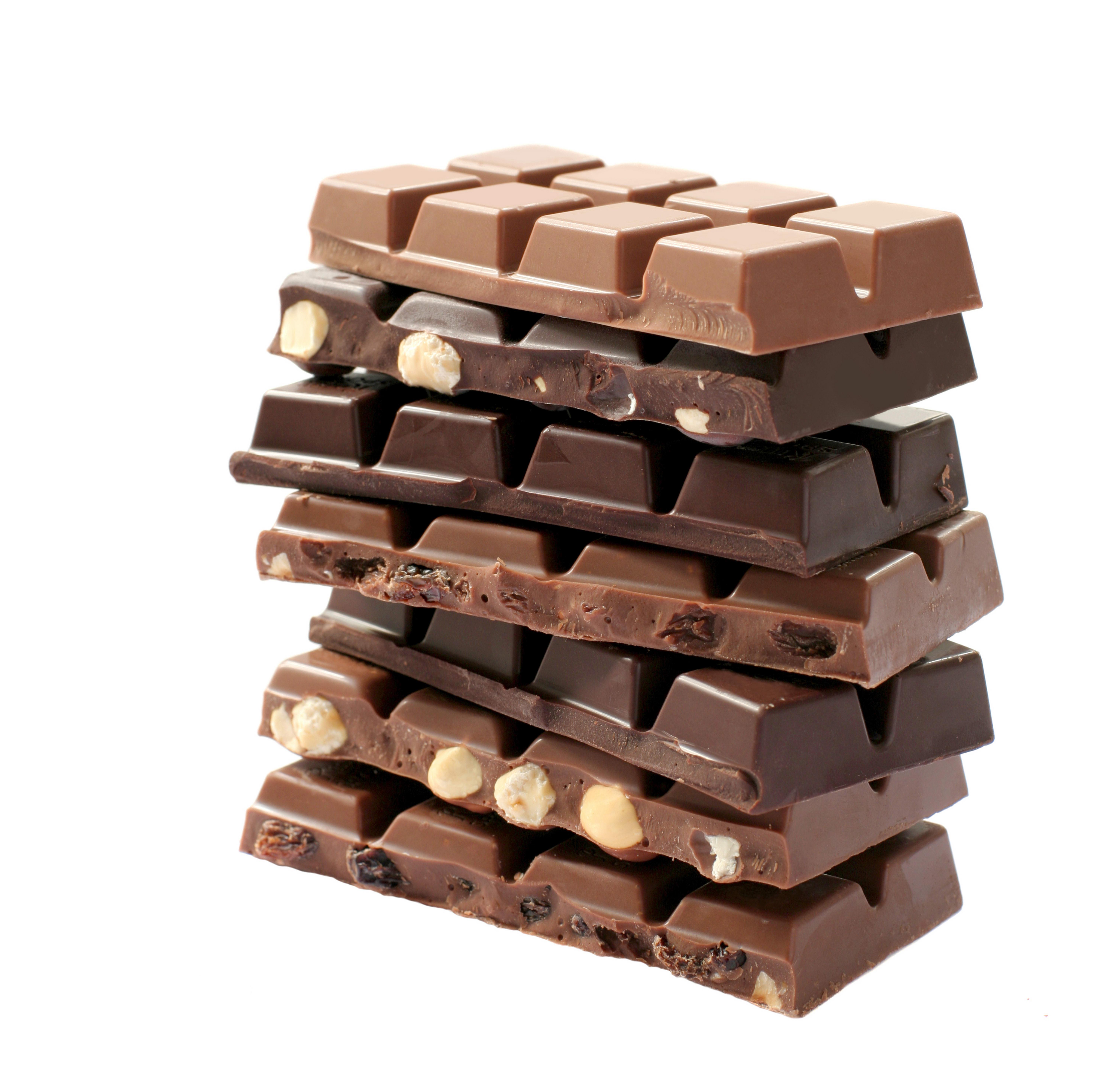 Как появился шоколад в плитках