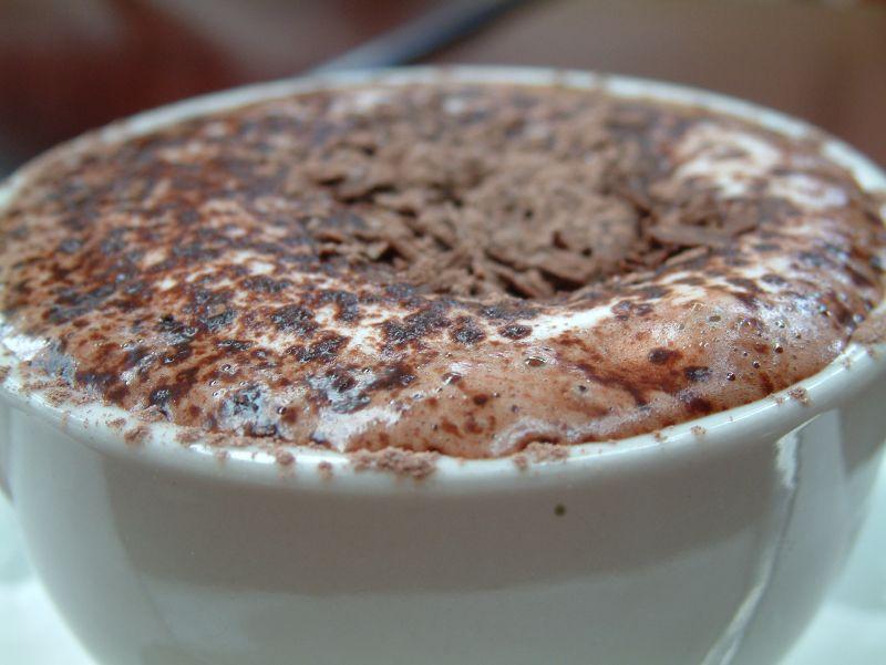 Чинтака — горячий шоколад