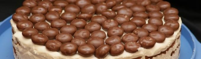 Шоколадный пирог с маскарпоне рецепт